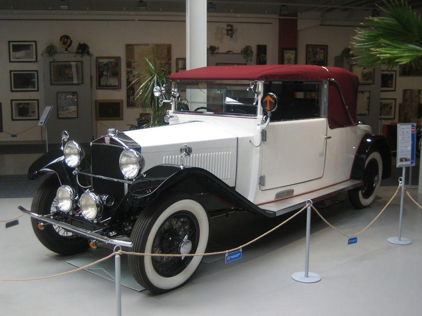 1928-31 Tatra 17-31 Sport, 6 cylinder, 3 carburetors, 29kW
