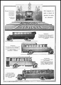 1928 AUTOVEICOLI-LANCIA-CHASSIS-INDUSTRIALI-AUTOBUS