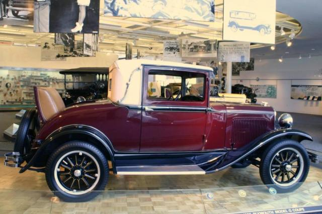 1928 Plymouth Model Q Coupe