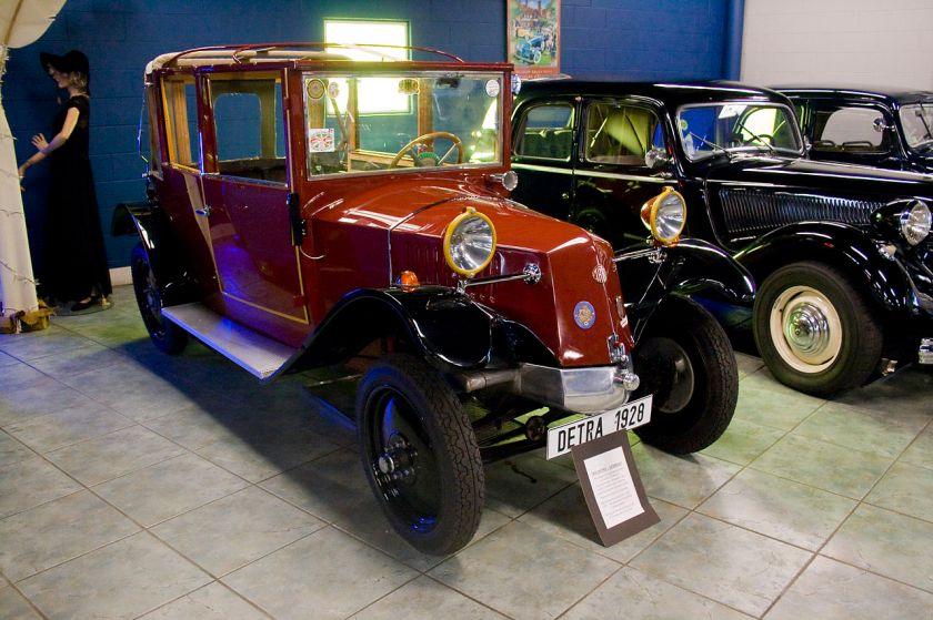 1928 Tatra Detra - a rebranded Tatra 12 assembled in Germany