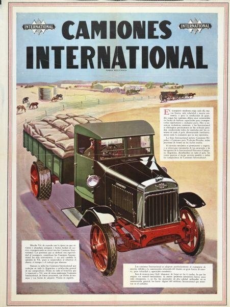 1929 International Truck Advertising Poster (Argentina)