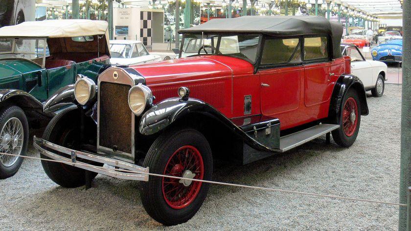 1929 Lancia Dilambda Torpedo