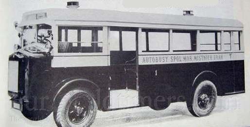 1929 Tatra 23 (8143ccm) Bus