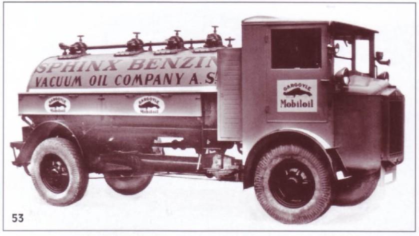 1929 Tatra T23 Spinx Benzin Fuel