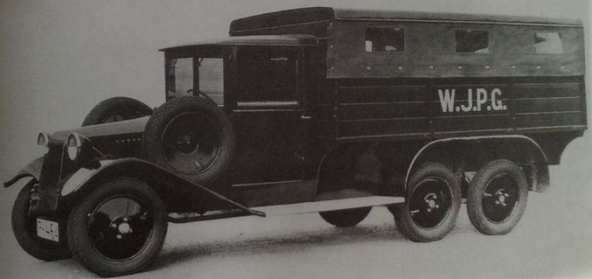 1929 Tatra T26-30, light 6×4 lorry