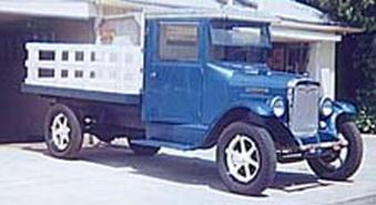 1930 International SSS Special 1ton6spd4cylflathead3spdtrans2spdrear