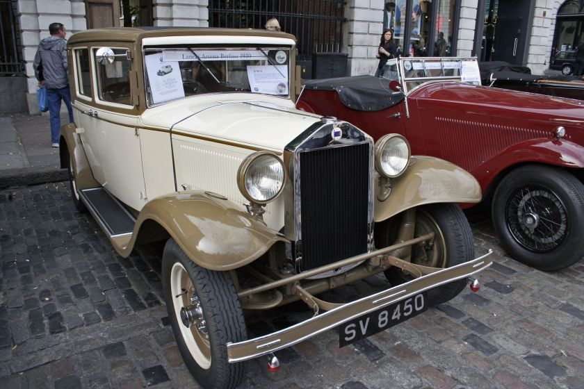 1930 Lancia Artena Berlina