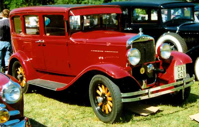 1930 Plymouth 30-U 4-Door Sedan 1930