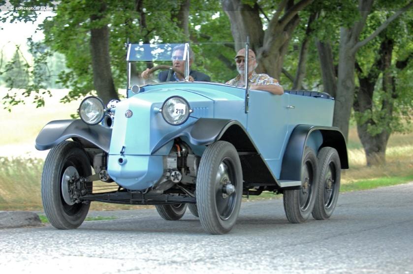 1930 Tatra T26 30 (T26-30, Type 26 30)
