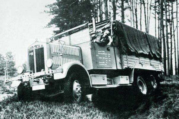 1931 Büssing-NAG 3GL6, 6x6
