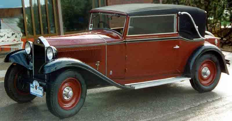 1931 Lancia Artena Cabriolet
