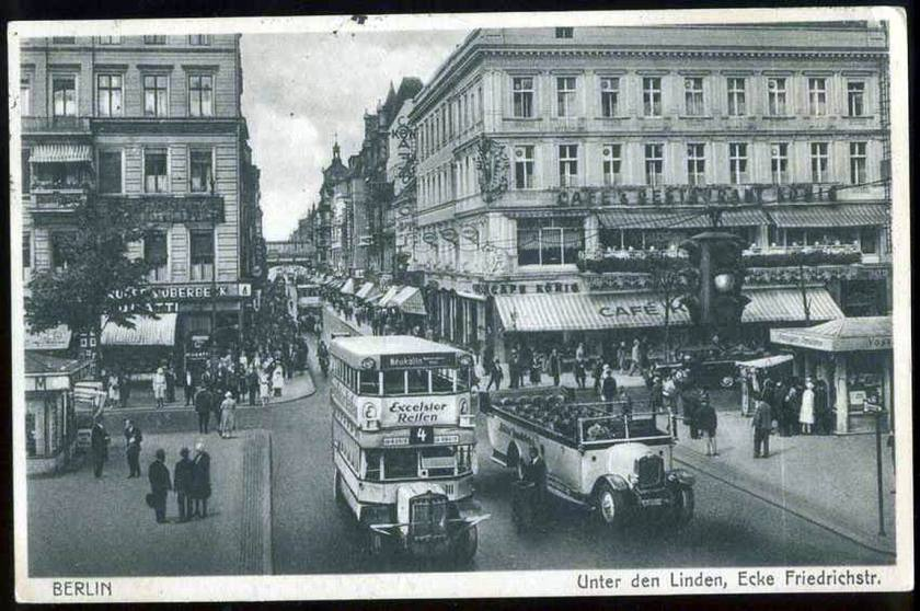 1932 Büssing ili krupp bus Berlin Z