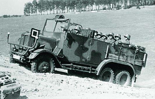 1932 Büssing-NAG G31, 6x6
