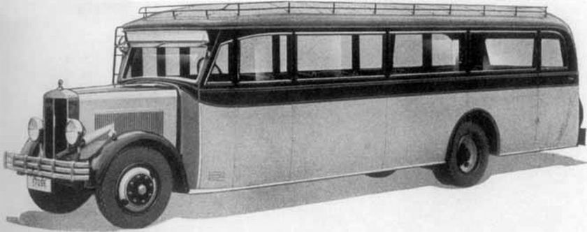 1932 Büssing - NAG tipo 300