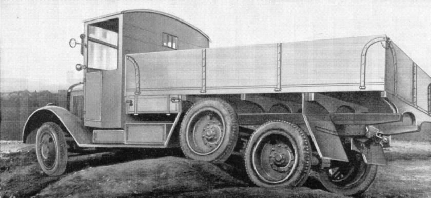 1932 Büssings offroad truck Dreiachs-Querfeldein-Lastkraftwagen