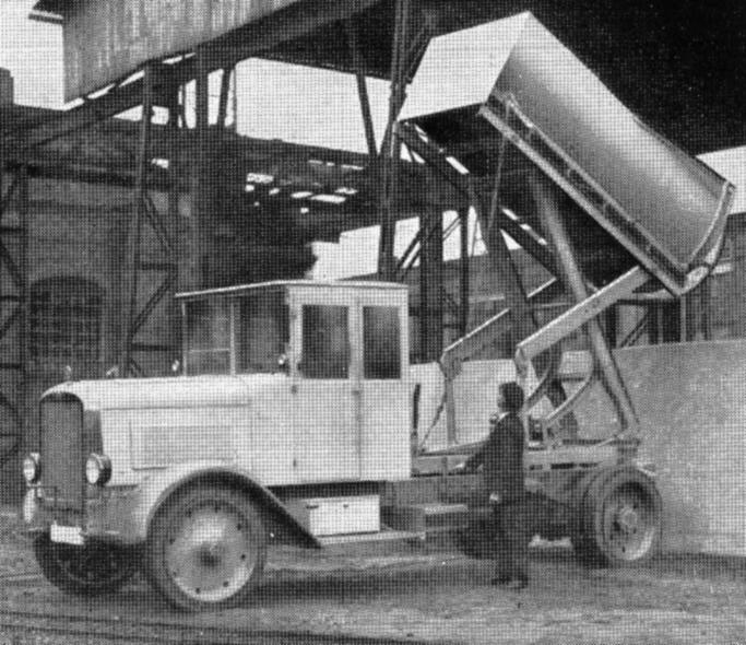 1932 Lastkraftwagen_mit_Hochkipper