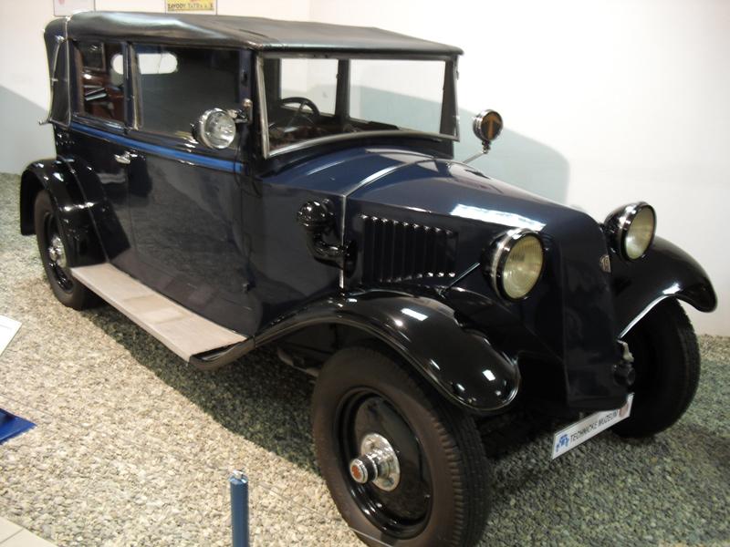 1932 Tatra T52 4-zit sport cabriolet