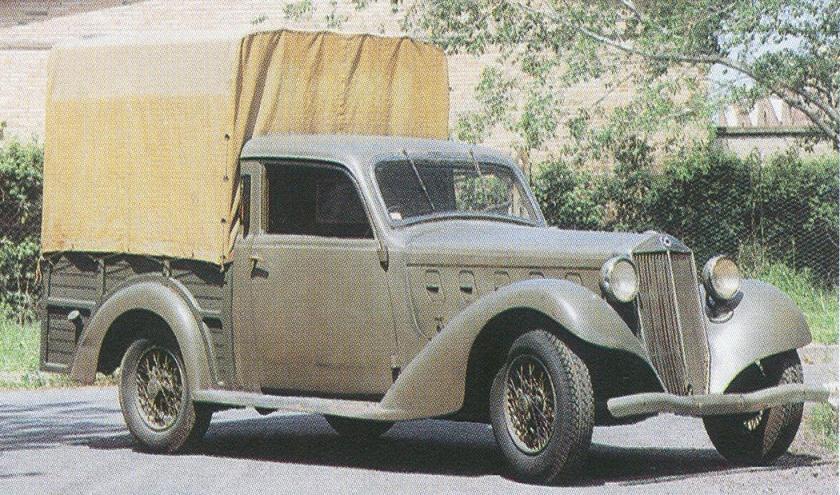 1933 2 Lancia Augusta - 1933 Trijota и Tetrajota