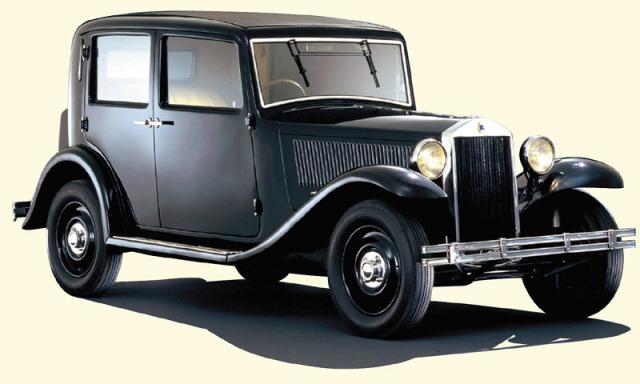 1933-35 Lancia Augusta a