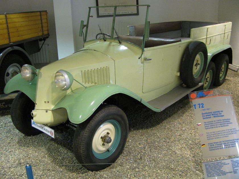 1933-37 Tatra 72 (T72)