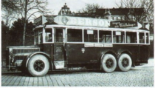 1933 Büssing Bus
