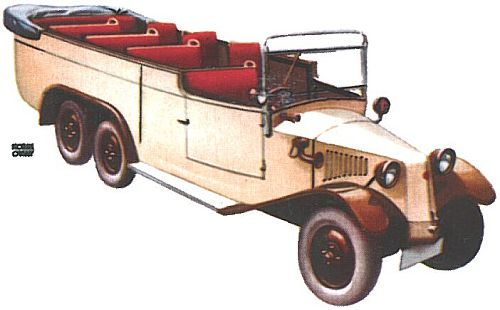 1933 Tatra 72 de 1933 Version Limousine