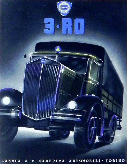 1934-38 Lancia 3 RO c Ad