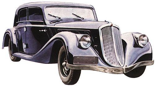 1934 Tatra T52lux