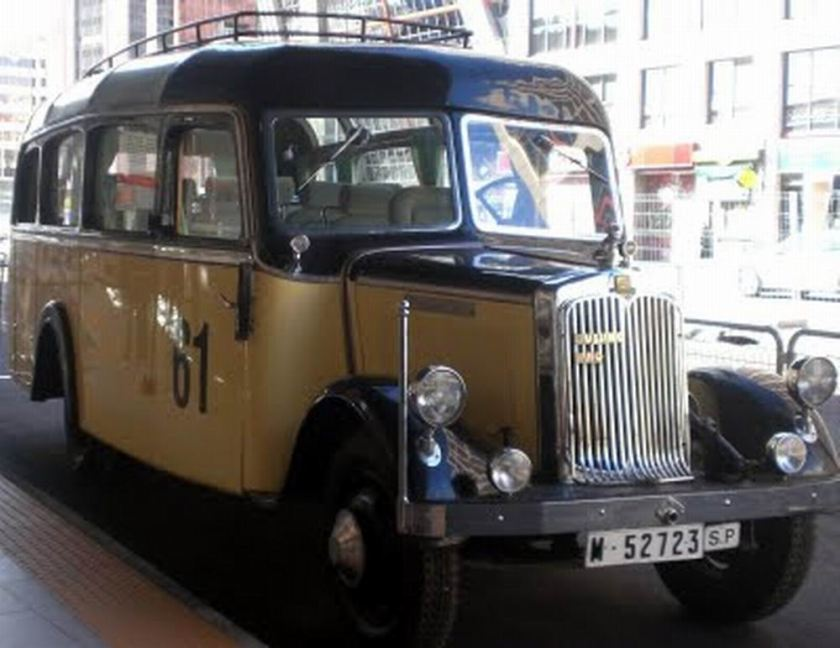 1935 Büssing, Nag. 3080 cc, 65 horsepower Madrid