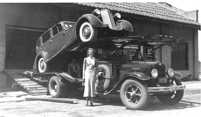 1935 International Harvester and Packard
