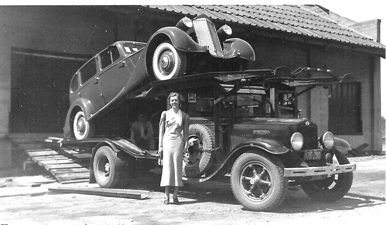 1935 International Harvester and Packard