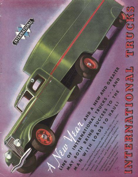 1935 International Truck Advertisement