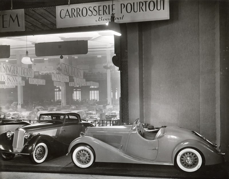 1935 Lancia Belna Eclipse et Roadster Pourtout - Salon 1935