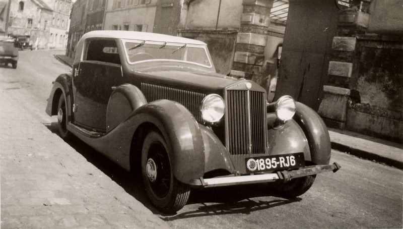 1935 Lancia Dilambda with Pourtout coachwork
