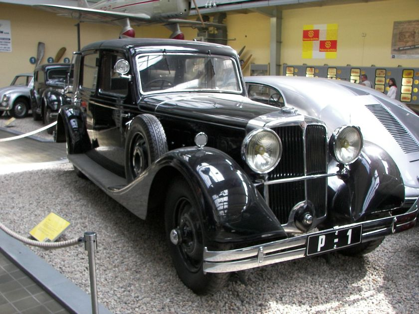 1935 Tatra 80 - Luxury car. This one was build 1935 for czechoslovak president T. G. Masaryk