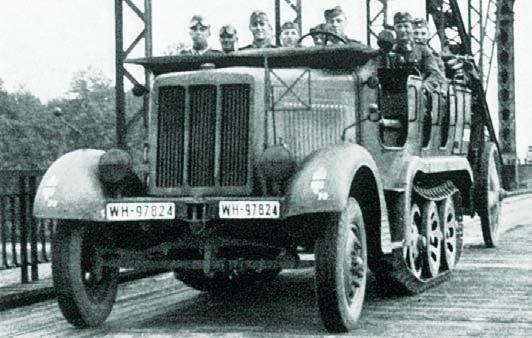 1936 Büssing-NAG BN L7 (Sd.Kfz.6)