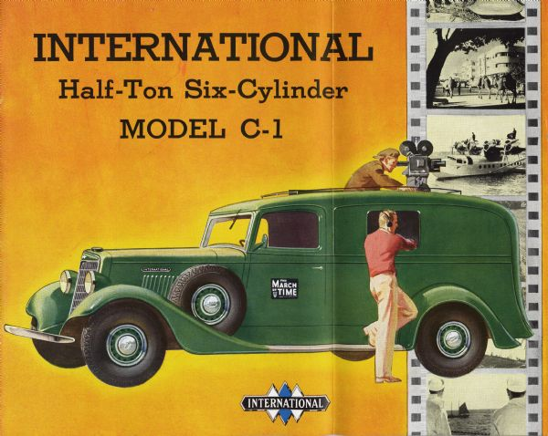 1936 International C-1 Truck Brochure