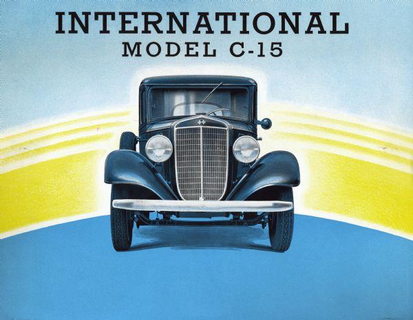 1936 International C-15 Truck Brochure