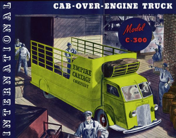 1936 International C-300 Truck Brochure