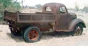 1936 International dumptruck