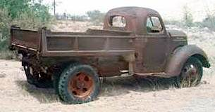 1936 International dumptruck