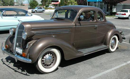 1936 Plymouth