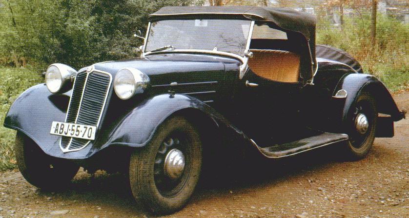 1936 Tatra-57A roadster