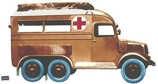 1936 Tatra 92 Ambulance