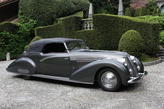 1937-39 Lancia Astura Boneschi Cabriolet