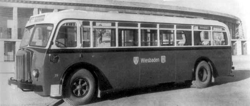 1937 Büssing-NAG tipo 650T
