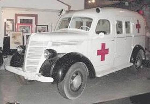 1937 international ambulance 1937