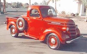 1937 international D2