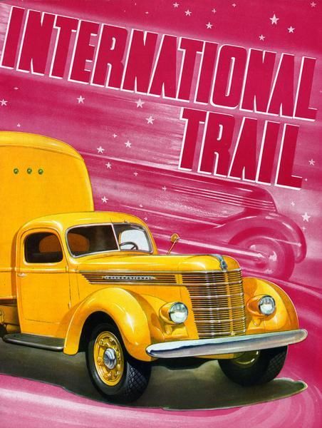 1937 International Trail Magazine Cover
