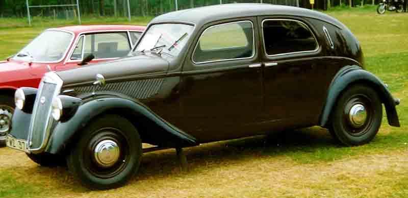 1937 Lancia Aprilia Berlina 1937